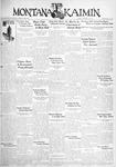 The Montana Kaimin, November 24, 1931