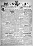 The Montana Kaimin, December 1, 1931