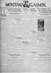 The Montana Kaimin, January 13, 1933