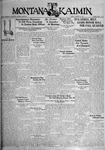 The Montana Kaimin, January 20, 1933