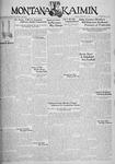 The Montana Kaimin, February 21, 1933
