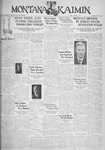 The Montana Kaimin, March 3, 1933