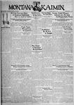 The Montana Kaimin, March 7, 1933