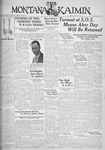 The Montana Kaimin, March 31, 1933