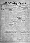 The Montana Kaimin, April 4, 1933