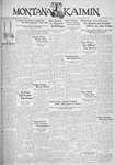 The Montana Kaimin, April 11, 1933