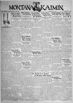 The Montana Kaimin, April 14, 1933