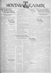 The Montana Kaimin, April 21, 1933