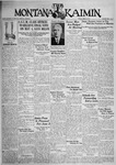 The Montana Kaimin, April 28, 1933