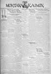 The Montana Kaimin, May 2, 1933