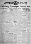 The Montana Kaimin, May 10, 1933