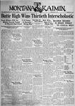 The Montana Kaimin, May 12, 1933