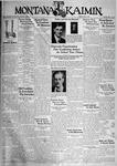 The Montana Kaimin, June 2, 1933