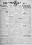 The Montana Kaimin, October 3, 1933