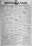 The Montana Kaimin, October 6, 1933
