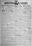 The Montana Kaimin, October 10, 1933