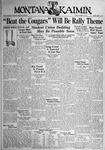 The Montana Kaimin, October 13, 1933