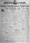 The Montana Kaimin, October 27, 1933