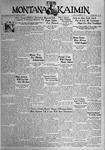 The Montana Kaimin, November 3, 1933