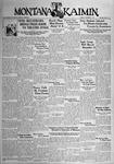 The Montana Kaimin, November 7, 1933