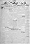 The Montana Kaimin, November 10, 1933