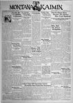 The Montana Kaimin, November 21, 1933