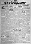 The Montana Kaimin, November 24, 1933