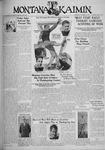 The Montana Kaimin, November 29, 1933