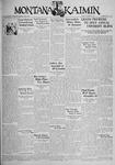 The Montana Kaimin, December 8, 1933