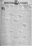 The Montana Kaimin, December 12, 1933
