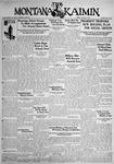 The Montana Kaimin, January 8, 1932