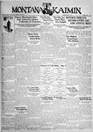 The Montana Kaimin, May 3, 1932