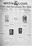 The Montana Kaimin, May 11, 1932