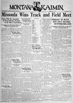 The Montana Kaimin, May 13, 1932