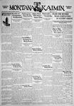 The Montana Kaimin, May 27, 1932