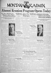 The Montana Kaimin, June 3, 1932