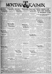The Montana Kaimin, October 4, 1932