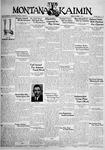 The Montana Kaimin, October 7, 1932