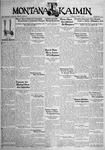 The Montana Kaimin, October 11, 1932