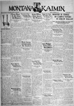 The Montana Kaimin, October 28, 1932