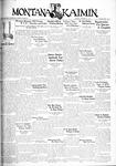 The Montana Kaimin, November 22, 1932
