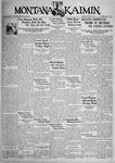 The Montana Kaimin, January 9, 1934