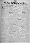 The Montana Kaimin, February 13, 1934