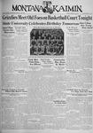 The Montana Kaimin, February 16, 1934