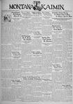 The Montana Kaimin, February 27, 1934