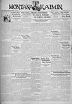 The Montana Kaimin, May 25, 1934