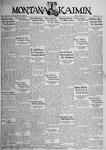 The Montana Kaimin, October 5, 1934