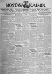 The Montana Kaimin, October 9, 1934