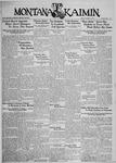 The Montana Kaimin, October 19, 1934