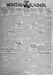 The Montana Kaimin, October 30, 1934